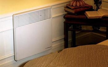 Olejový radiátor na stenu